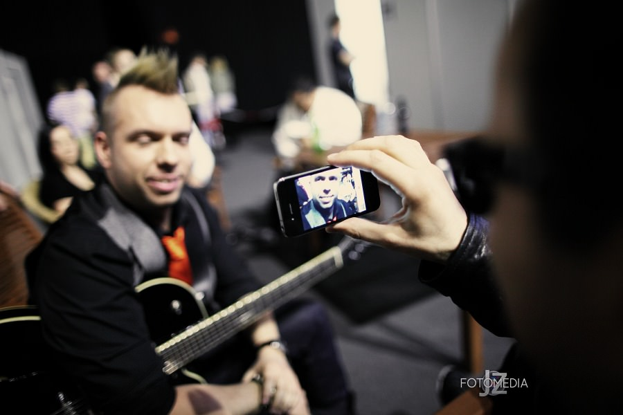 Must Be The Music. Tylko Muzyka. Polsat - pierwszy odcinek na żywo - reportaż ze studia 12