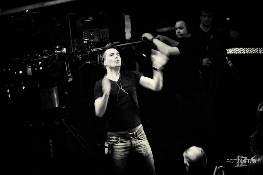 Must Be The Music. Tylko Muzyka. Polsat - pierwszy odcinek na żywo - reportaż ze studia 17