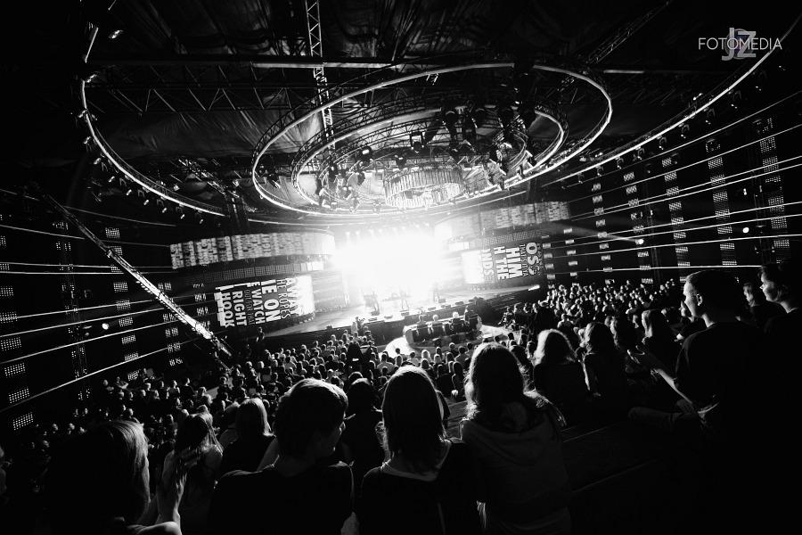 Must Be The Music. Tylko Muzyka. Polsat - pierwszy odcinek na żywo - reportaż ze studia 23