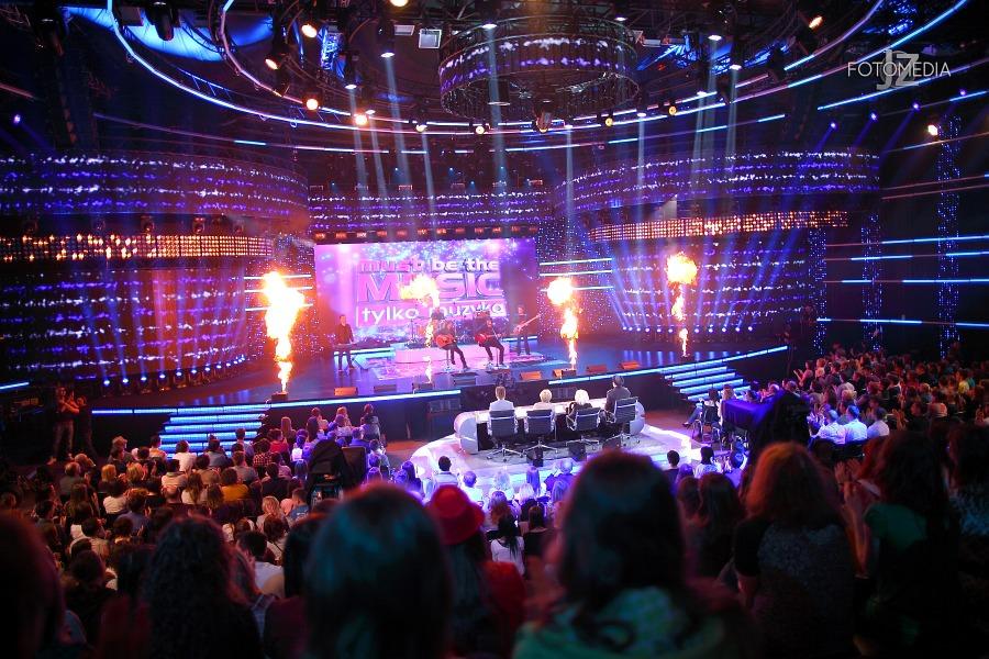 Must Be The Music. Tylko Muzyka. Polsat - pierwszy odcinek na żywo - reportaż ze studia 34