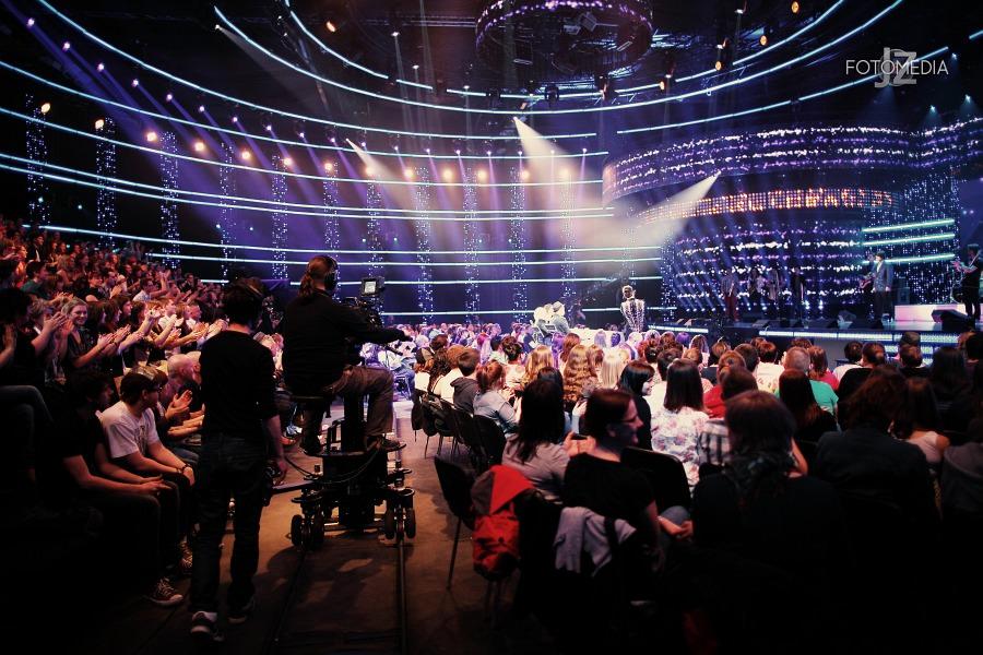 Must Be The Music. Tylko Muzyka. Polsat - pierwszy odcinek na żywo - reportaż ze studia 60