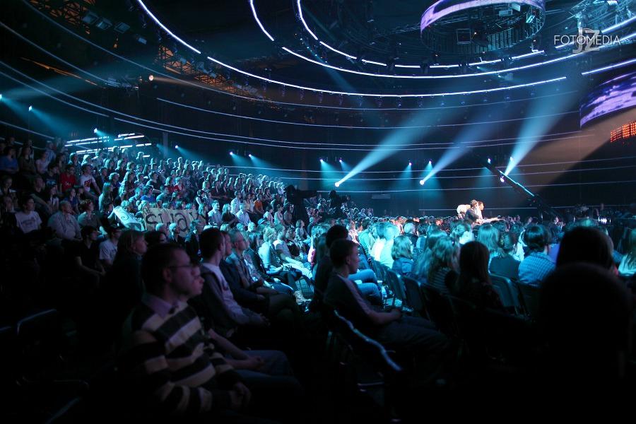 Must Be The Music. Tylko Muzyka. Polsat - pierwszy odcinek na żywo - reportaż ze studia 45