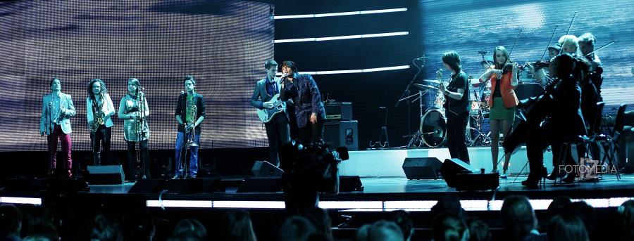Must Be The Music. Tylko Muzyka. Polsat - pierwszy odcinek na żywo - reportaż ze studia 61