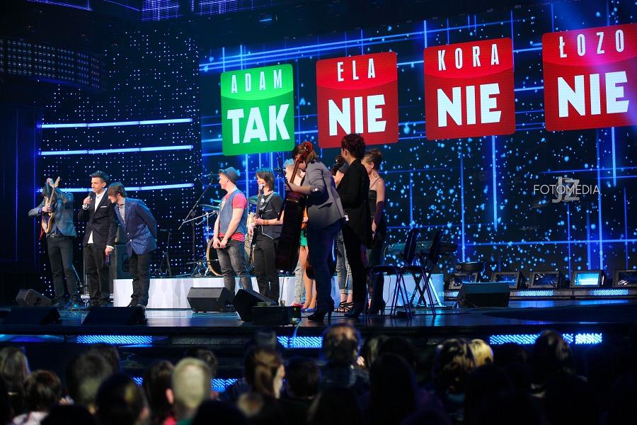 Must Be The Music. Tylko Muzyka. Polsat - pierwszy odcinek na żywo - reportaż ze studia 64