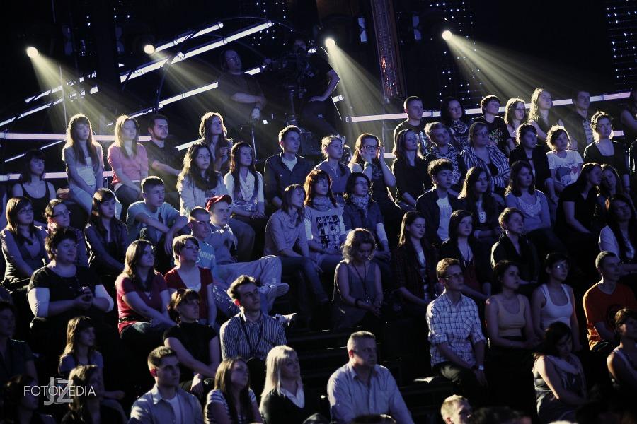 Must Be The Music. Tylko Muzyka. Polsat - pierwszy odcinek na żywo - reportaż ze studia 77