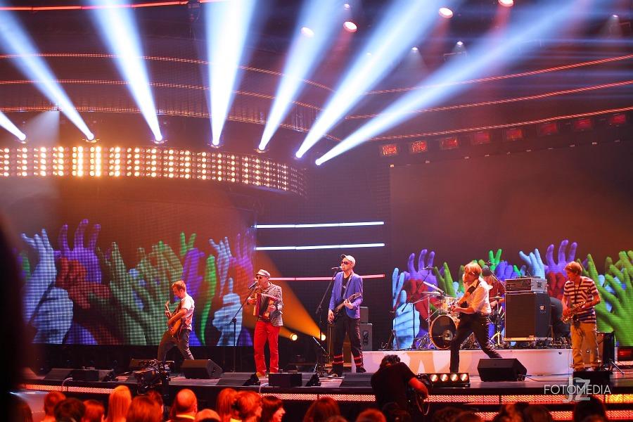 Must Be The Music. Tylko Muzyka. Polsat - pierwszy odcinek na żywo - reportaż ze studia 83