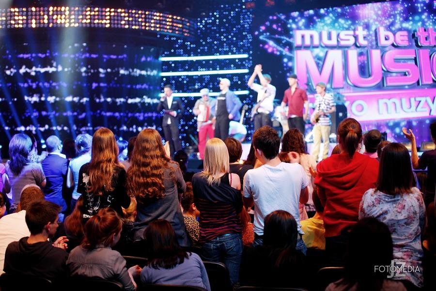Must Be The Music. Tylko Muzyka. Polsat - pierwszy odcinek na żywo - reportaż ze studia 85