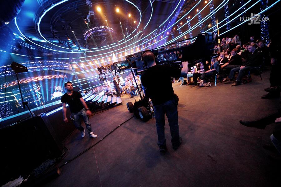 Must Be The Music. Tylko Muzyka. Polsat - pierwszy odcinek na żywo - reportaż ze studia 88