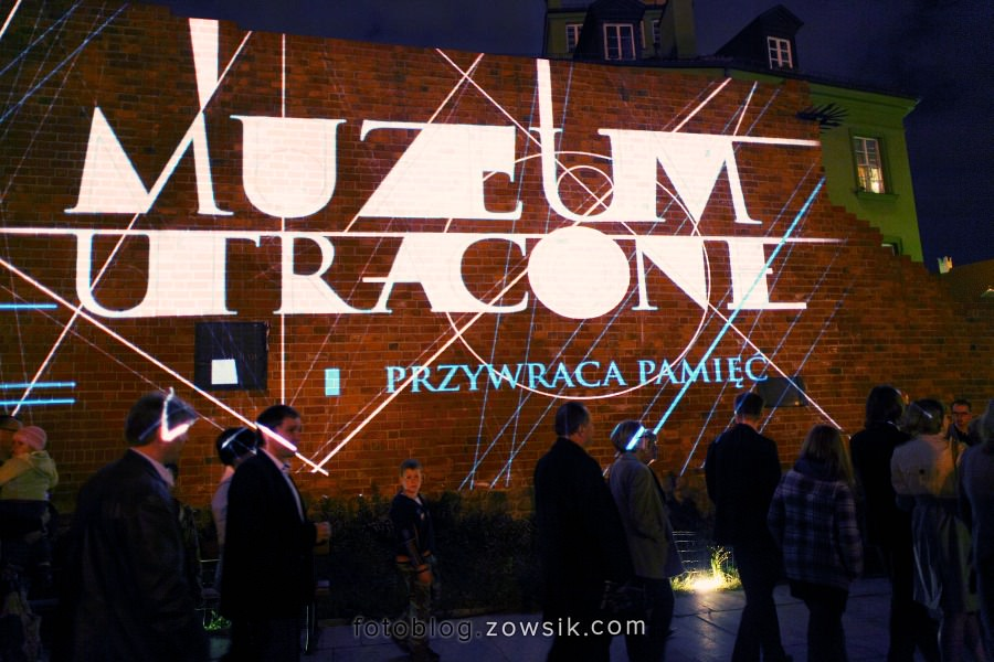 Noc Muzeów 2011 Warszawa – Muzeum Utracone i Zamek Królewski. 17