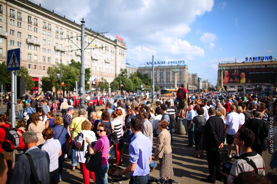 67 rocznica wybuchu Powstania Warszawskiego. Pl. Konstytucji godz. 17:00 9