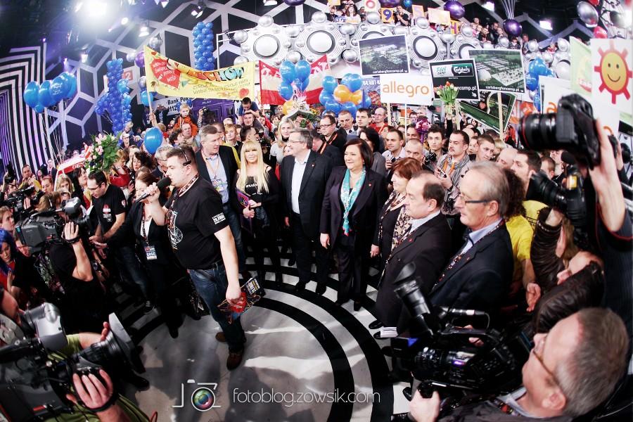 Warszawa – 20 Finał Wielkiej Orkiestry Świątecznej Pomocy (8 styczeń 2012). 23