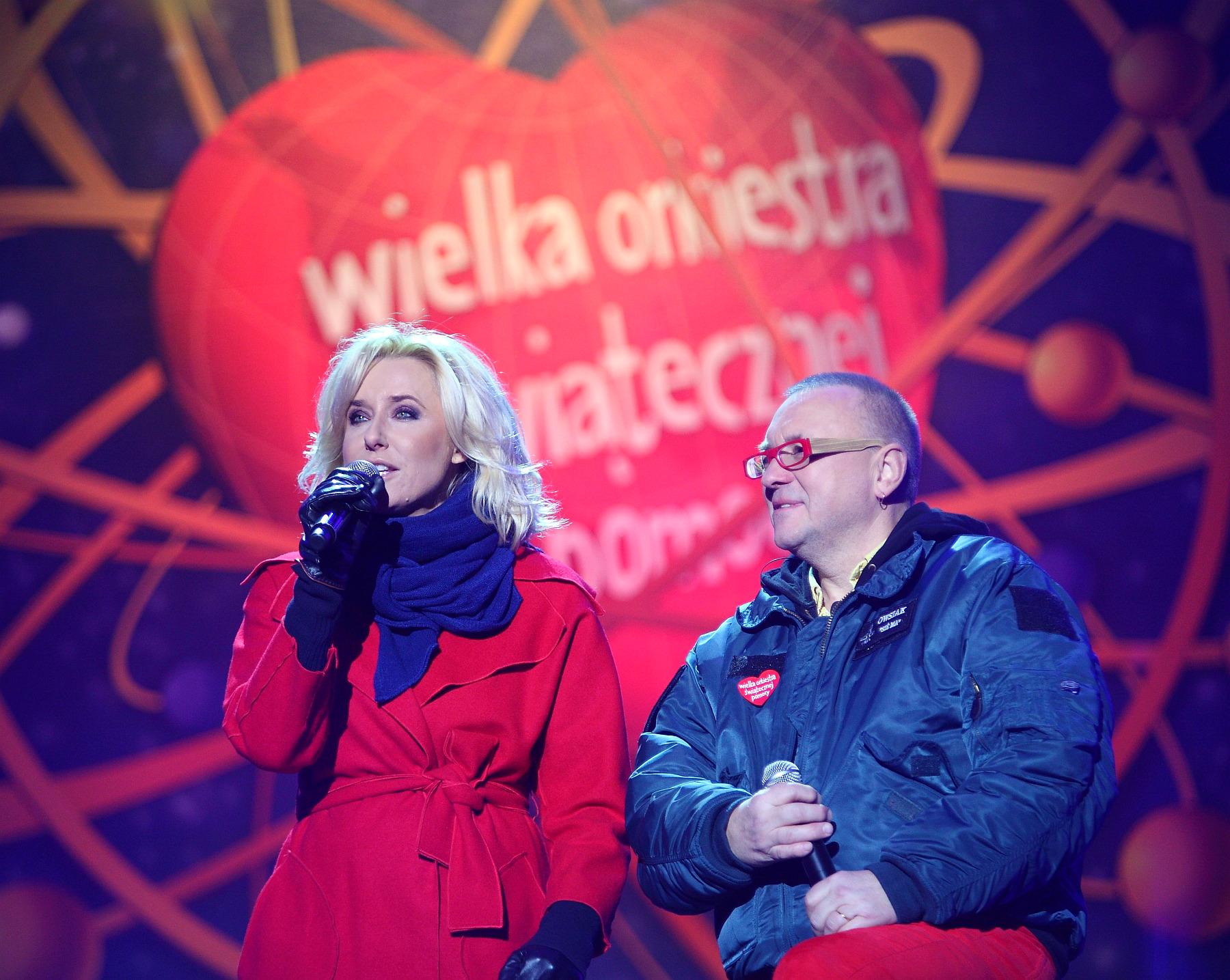 Warszawa – 20 Finał Wielkiej Orkiestry Świątecznej Pomocy (8 styczeń 2012).