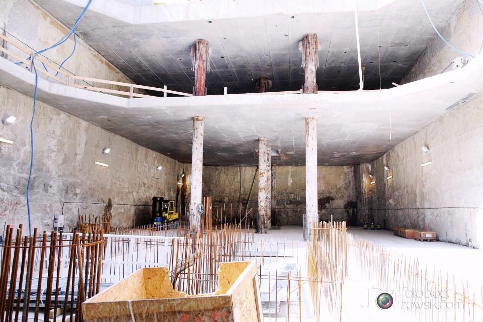 W budowie - stacja II linii metra - Rondo Daszyńskiego (C9) i tarcze TBM (Anna i Maria). 40
