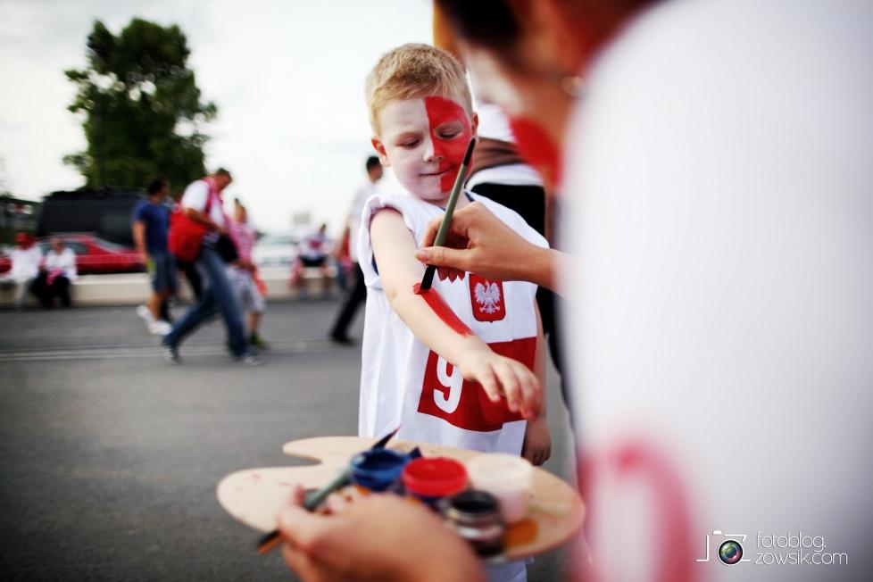 UEFA EURO 2012. Mecz Polska – Rosja. Reportaż od Stadionu do strefy kibica. Warszawa. 6
