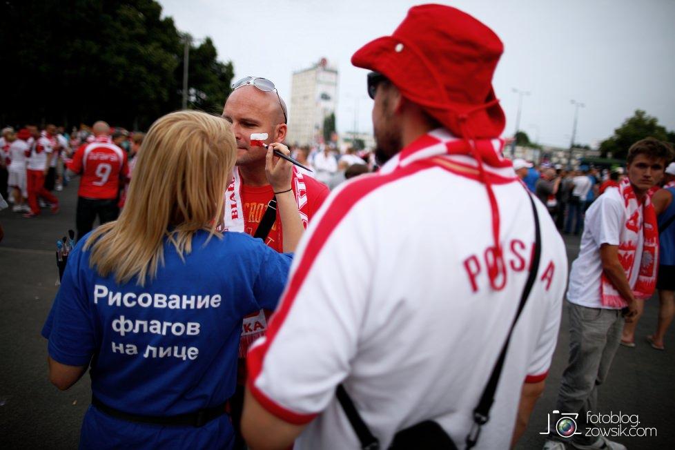 UEFA EURO 2012. Mecz Polska – Rosja. Reportaż od Stadionu do strefy kibica. Warszawa. 16