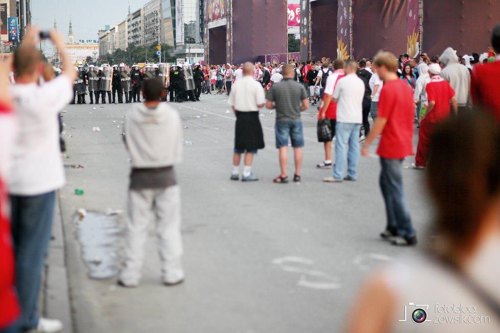 UEFA EURO 2012. Mecz Polska – Rosja. Reportaż od Stadionu do strefy kibica. Warszawa. 37