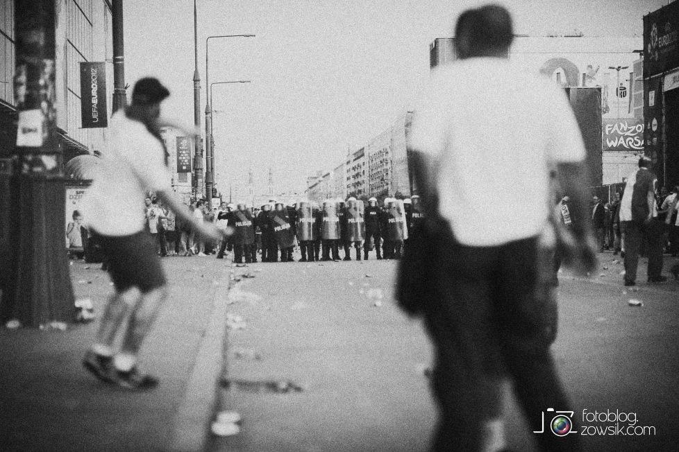 UEFA EURO 2012. Mecz Polska – Rosja. Reportaż od Stadionu do strefy kibica. Warszawa. 38