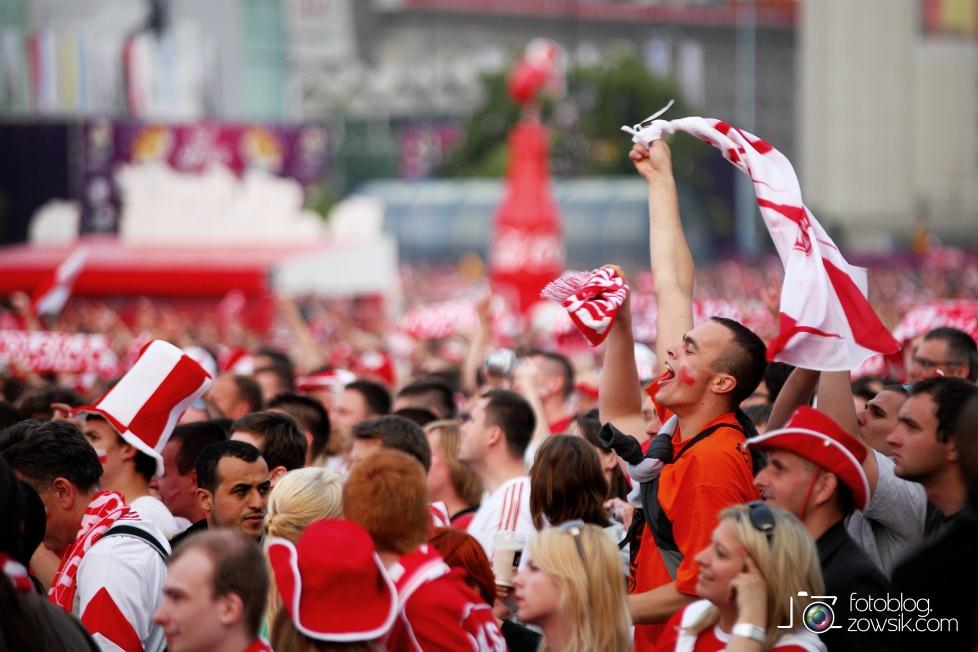 UEFA EURO 2012. Mecz Polska – Rosja. Reportaż od Stadionu do strefy kibica. Warszawa. 40