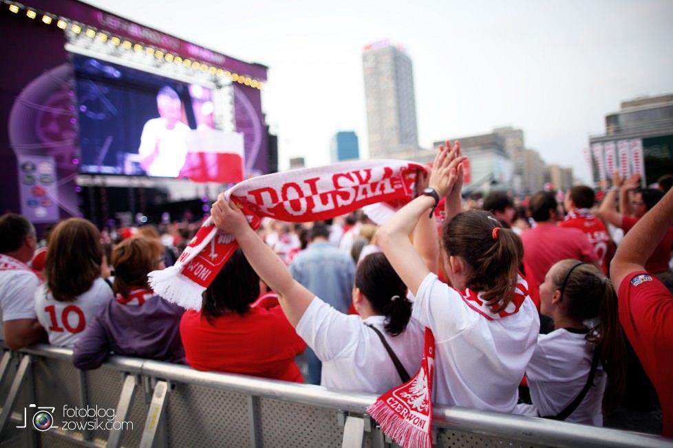 UEFA EURO 2012. Mecz Polska – Rosja. Reportaż od Stadionu do strefy kibica. Warszawa. 42