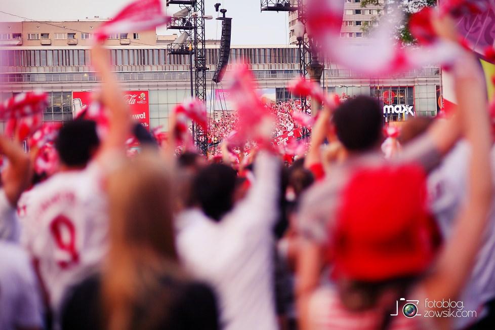 UEFA EURO 2012. Mecz Polska – Rosja. Reportaż od Stadionu do strefy kibica. Warszawa. 45