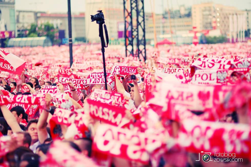 UEFA EURO 2012. Mecz Polska – Rosja. Reportaż od Stadionu do strefy kibica. Warszawa. 47