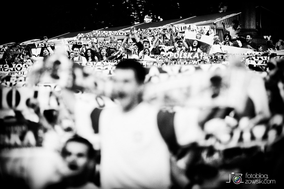 UEFA EURO 2012. Mecz Polska – Rosja. Reportaż od Stadionu do strefy kibica. Warszawa. 48
