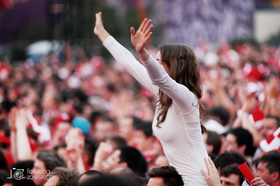 UEFA EURO 2012. Mecz Polska – Rosja. Reportaż od Stadionu do strefy kibica. Warszawa. 49