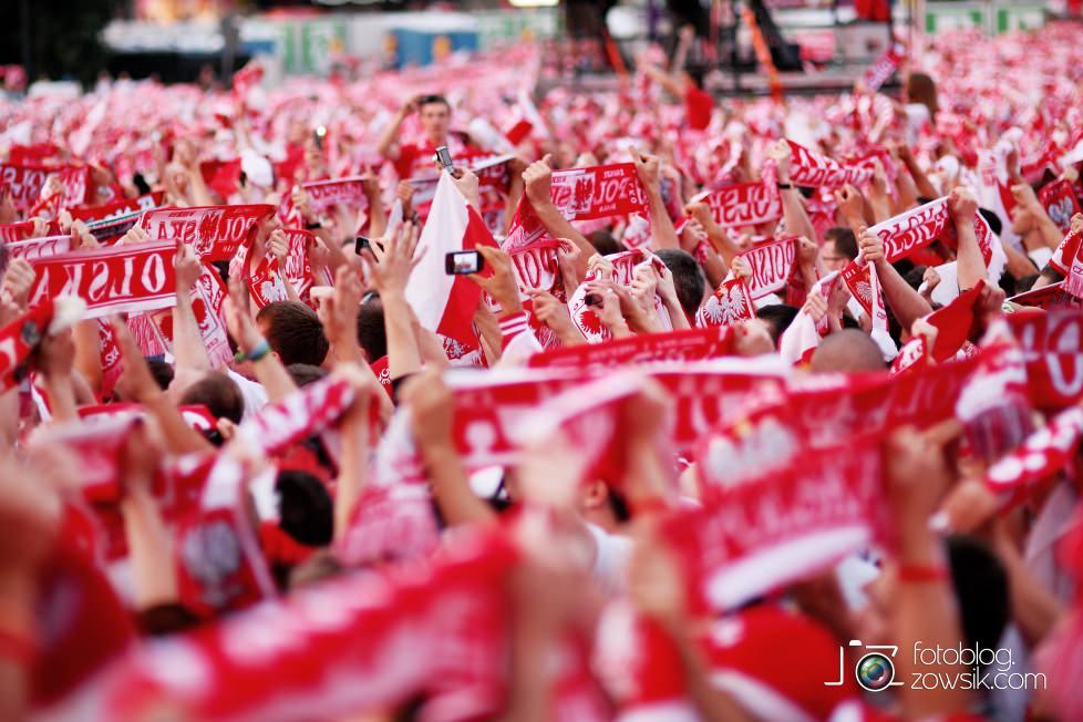 UEFA EURO 2012. Mecz Polska – Rosja. Reportaż od Stadionu do strefy kibica. Warszawa. 51