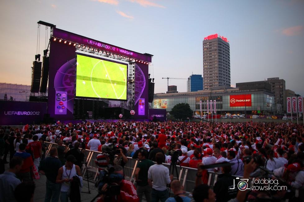 UEFA EURO 2012. Mecz Polska – Rosja. Reportaż od Stadionu do strefy kibica. Warszawa. 52