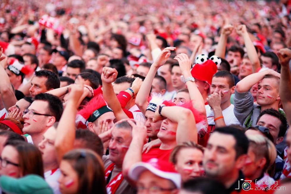 UEFA EURO 2012. Mecz Polska – Rosja. Reportaż od Stadionu do strefy kibica. Warszawa. 54