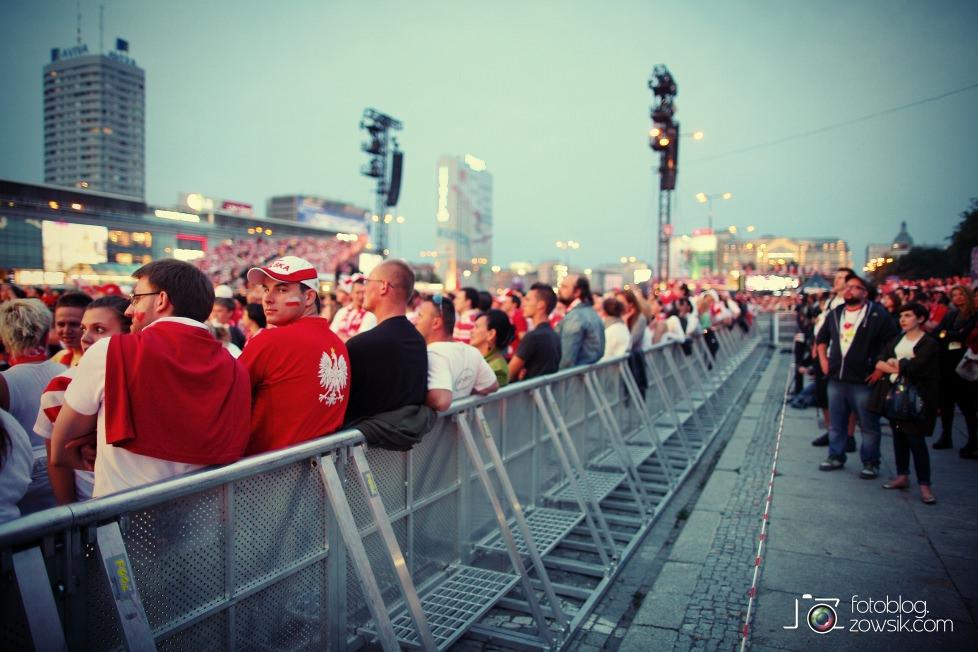 UEFA EURO 2012. Mecz Polska – Rosja. Reportaż od Stadionu do strefy kibica. Warszawa. 57