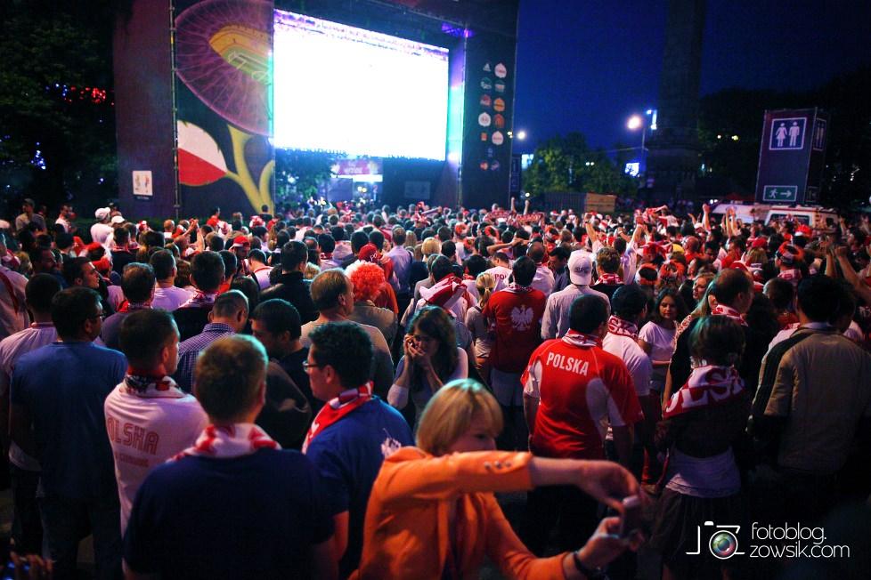 UEFA EURO 2012. Mecz Polska – Rosja. Reportaż od Stadionu do strefy kibica. Warszawa. 63