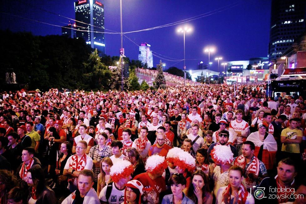 UEFA EURO 2012. Mecz Polska – Rosja. Reportaż od Stadionu do strefy kibica. Warszawa. 64