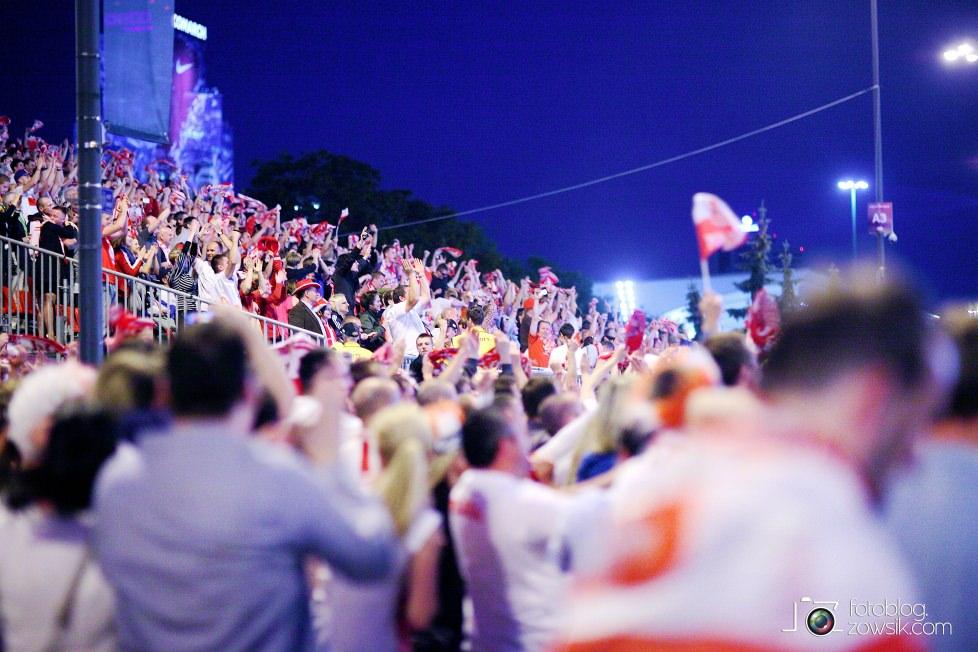 UEFA EURO 2012. Mecz Polska – Rosja. Reportaż od Stadionu do strefy kibica. Warszawa. 66