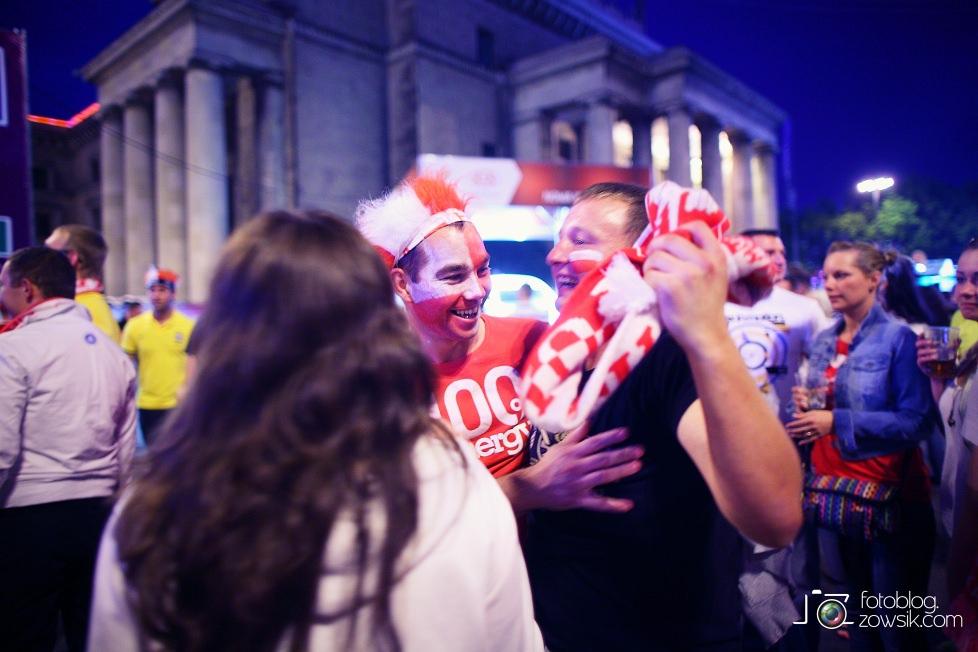 UEFA EURO 2012. Mecz Polska – Rosja. Reportaż od Stadionu do strefy kibica. Warszawa. 68