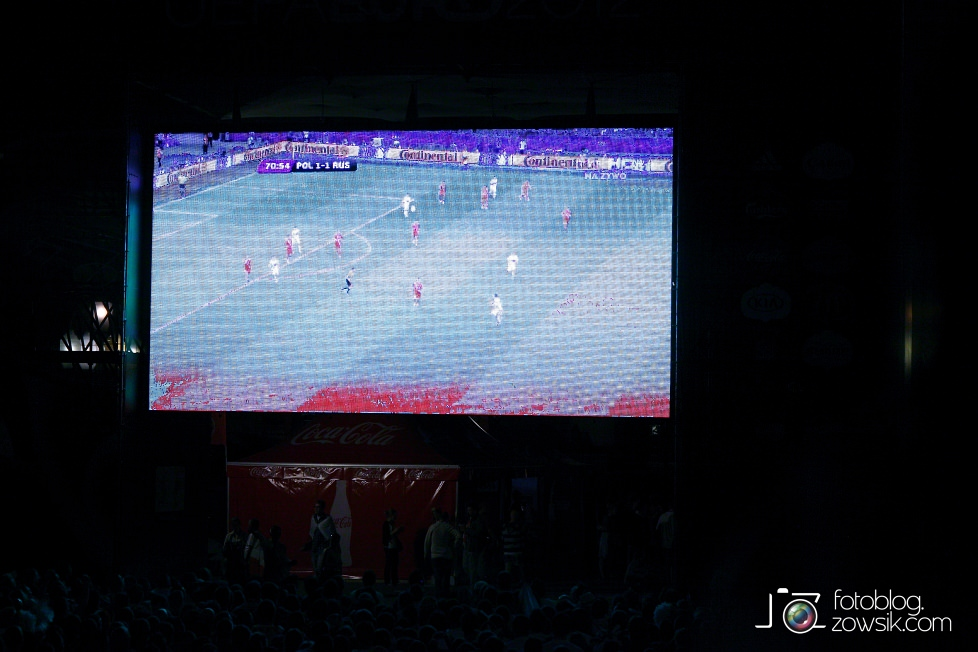 UEFA EURO 2012. Mecz Polska – Rosja. Reportaż od Stadionu do strefy kibica. Warszawa. 73