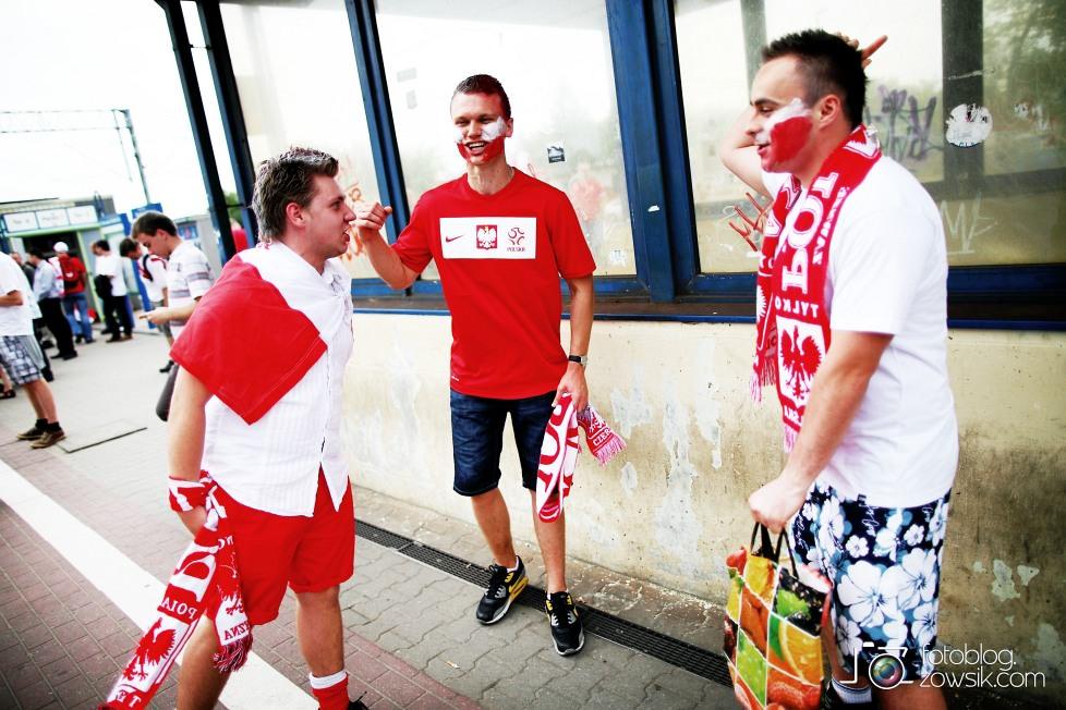 UEFA EURO 2012. Mecz Polska - Grecja. Reportaż ze strefy kibica w Warszawie. 1
