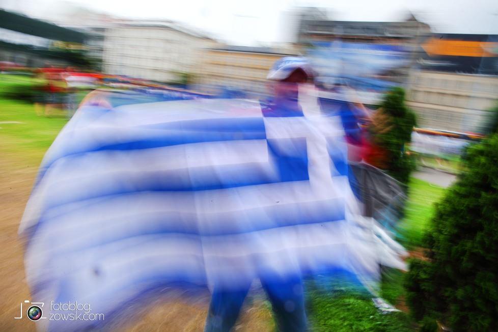 UEFA EURO 2012. Mecz Polska - Grecja. Reportaż ze strefy kibica w Warszawie. 8