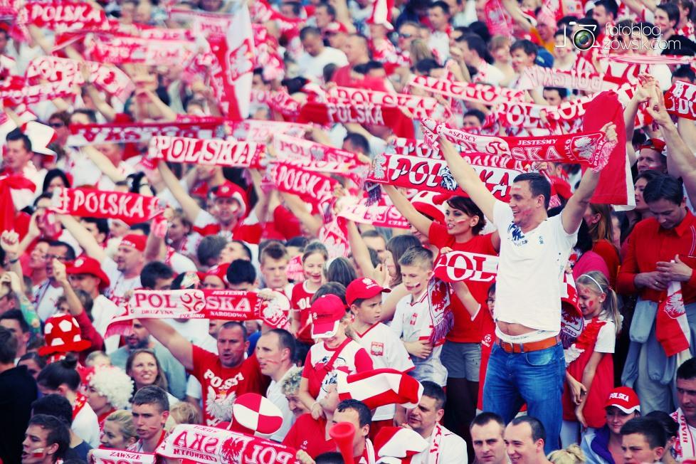 UEFA EURO 2012. Mecz Polska - Grecja. Reportaż ze strefy kibica w Warszawie. 35