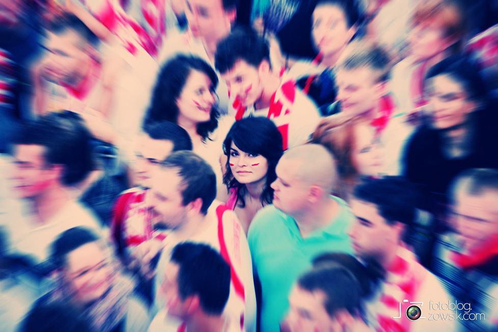 UEFA EURO 2012. Mecz Polska - Grecja. Reportaż ze strefy kibica w Warszawie. 47