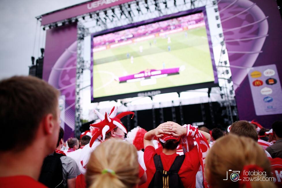 UEFA EURO 2012. Mecz Polska - Grecja. Reportaż ze strefy kibica w Warszawie. 64