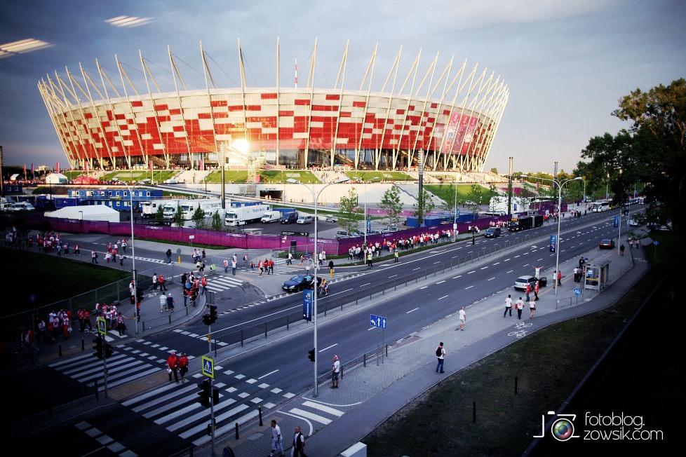 UEFA EURO 2012. Mecz Polska - Grecja. Reportaż ze strefy kibica w Warszawie. 75