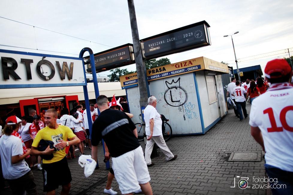 UEFA EURO 2012. Mecz Polska - Grecja. Reportaż ze strefy kibica w Warszawie. 78