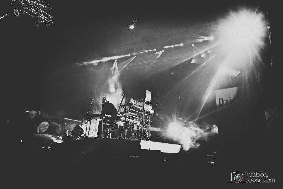 Marek Biliński i zdjęcia z I Królewskiego Festiwalu Światła w Wilanowie. 7