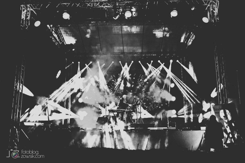 Marek Biliński i zdjęcia z I Królewskiego Festiwalu Światła w Wilanowie. 11