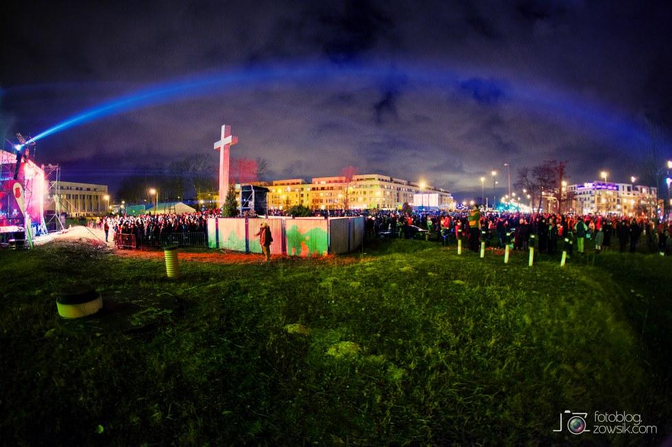 Marek Biliński i zdjęcia z I Królewskiego Festiwalu Światła w Wilanowie. 20