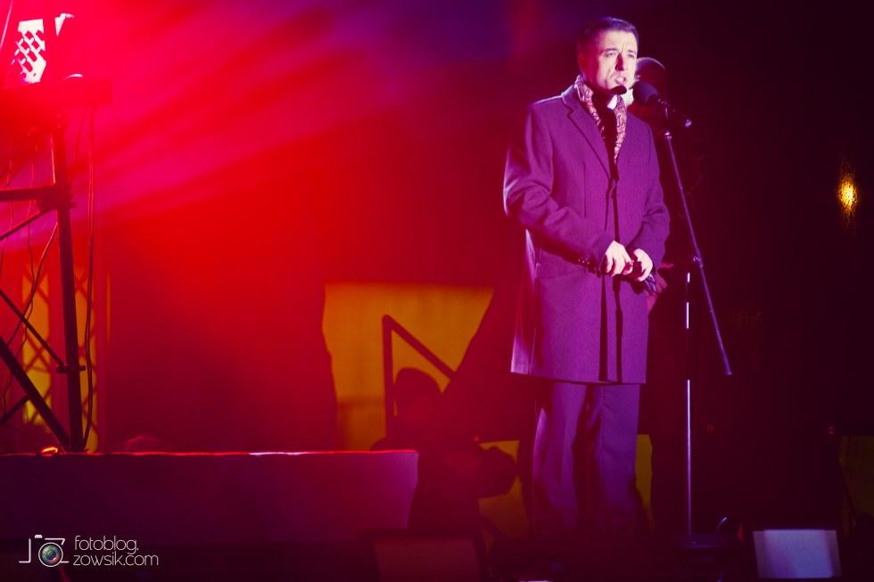 Marek Biliński i zdjęcia z I Królewskiego Festiwalu Światła w Wilanowie. 21