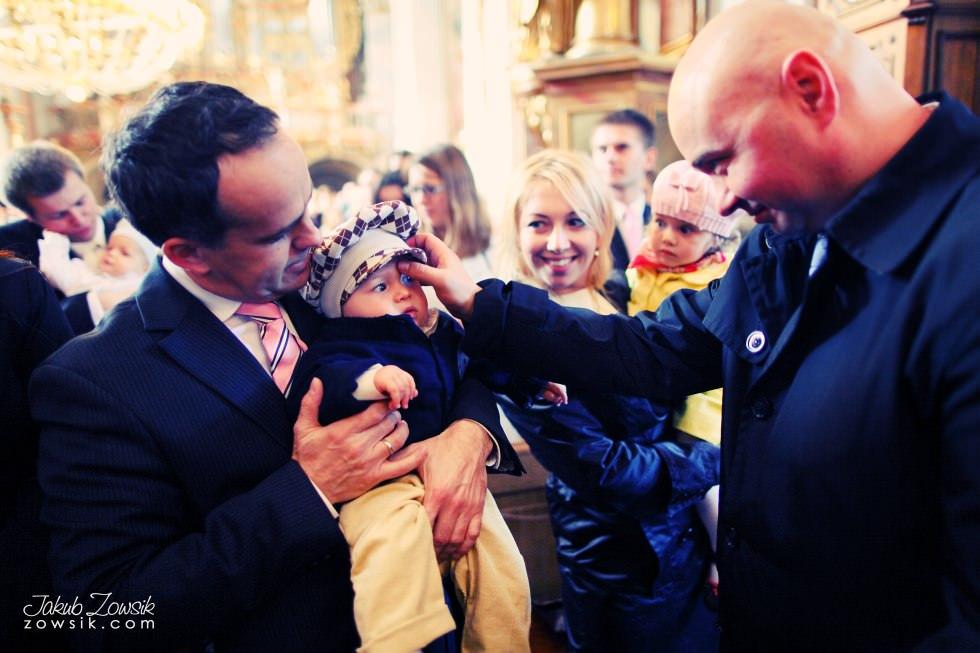 Chrzest Warszawa. Reportaż z uroczystość chrztu Tymoteusza. Kościół św. Anny (Krakowskie Przedmieście) 35