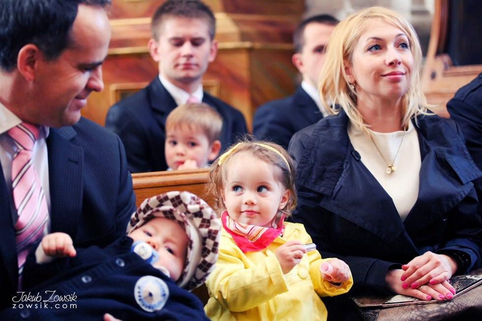 Chrzest Warszawa. Reportaż z uroczystość chrztu Tymoteusza. Kościół św. Anny (Krakowskie Przedmieście) 37
