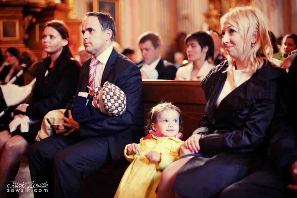 Chrzest Warszawa. Reportaż z uroczystość chrztu Tymoteusza. Kościół św. Anny (Krakowskie Przedmieście) 40